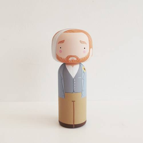 Vincet Kokeshi Doll