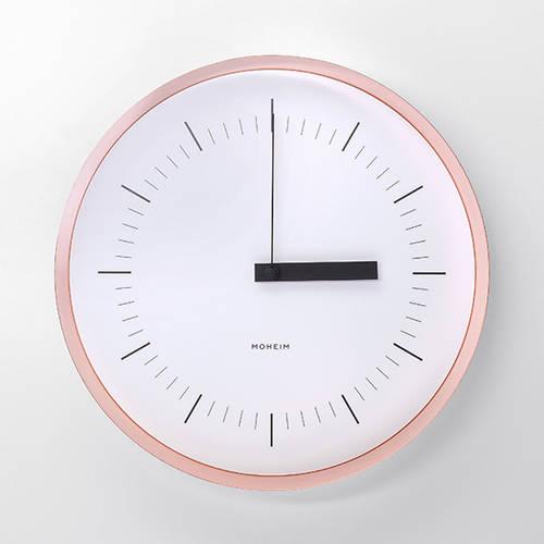 Horn Copper Wall Clock