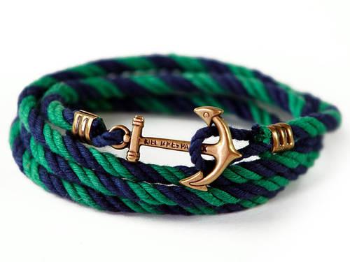 Anchor Bracelet by Kiel James Patrick