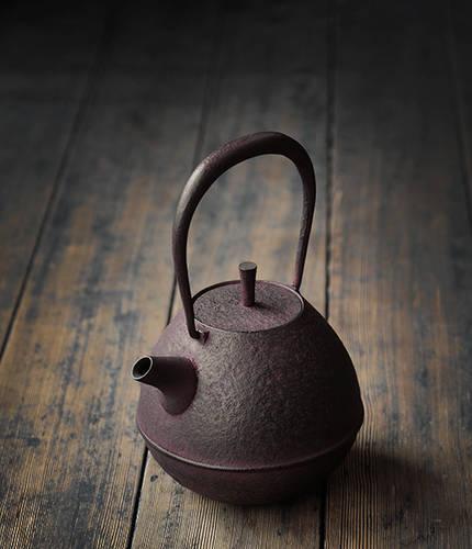 Iron Egg Kettle / Teapot