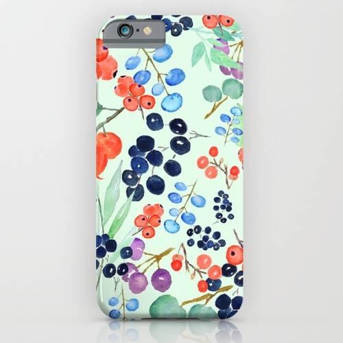Joyful Berries iPhone Case