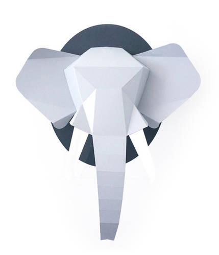 Paper Elephant Wall Kit