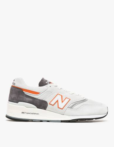 New Balance M997 in Grey/Orange