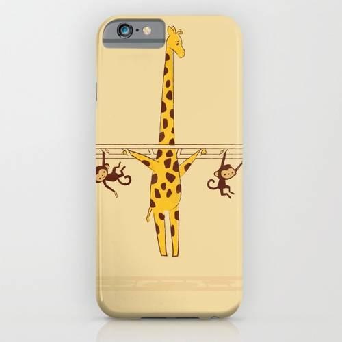 Frustrated Giraffe iPhone Case