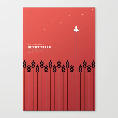 Interstellar Minimal Art Print