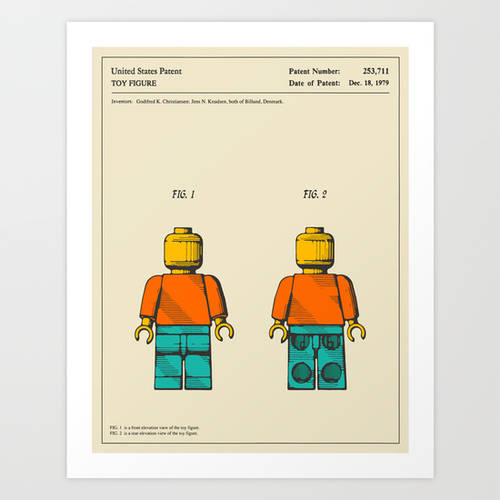 Toy Figure Art Print