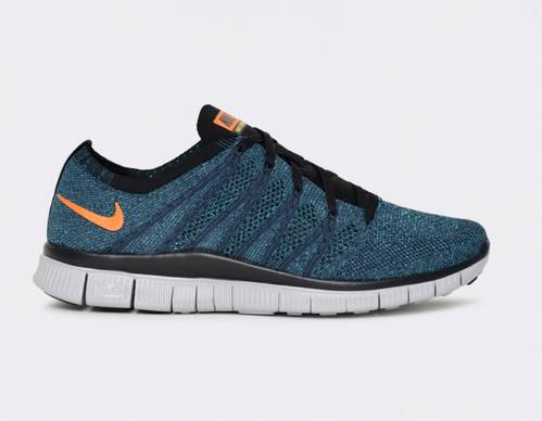 Nike Free Flyknit NSW Squadron Blue Shoes