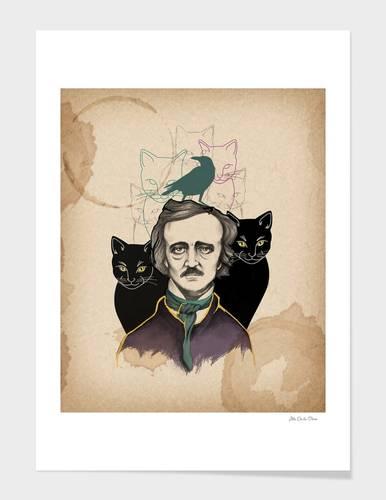 Edgar Allan Poe Art Print