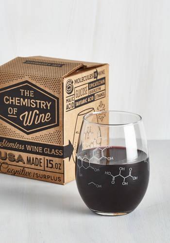 Pour-ganic Chemistry Wine Glas