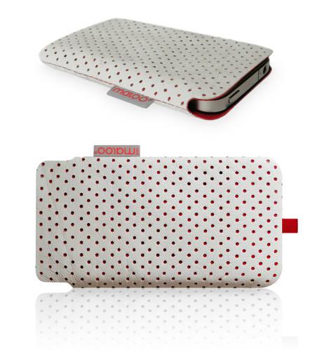 IPhone Sleeve Nappa Leather White