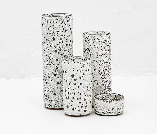 Céramique tube vase