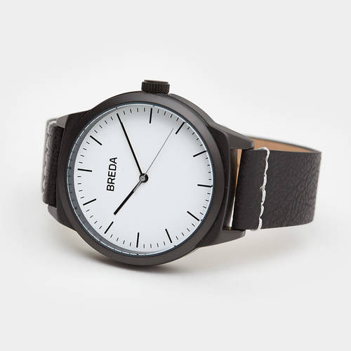 Breda Rand - White/Black Watch