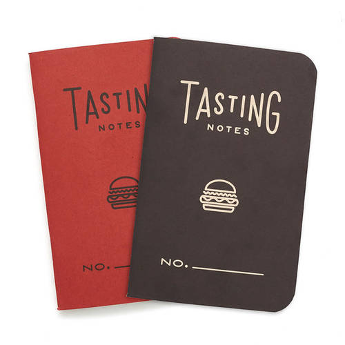 Tasting Notes notebook