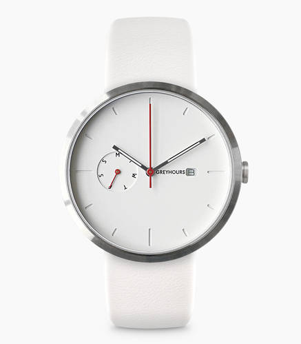 Greyhours / Essential White Watch