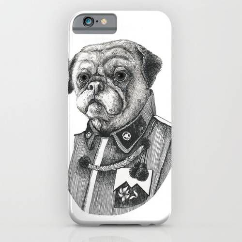 Mr. Pug iPhone Case