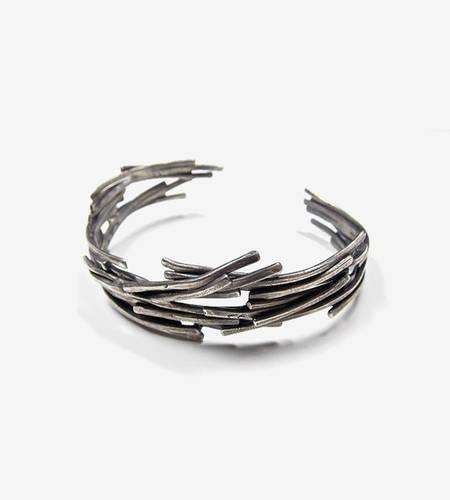 Stacks Silver Cuff Bracelet