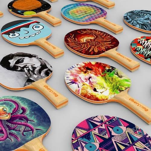 Designer Table Tennis Paddles