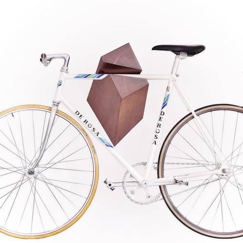 Oak Wood Bike Hanger