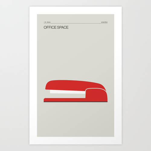 Office Space - Minimal Movie Poster