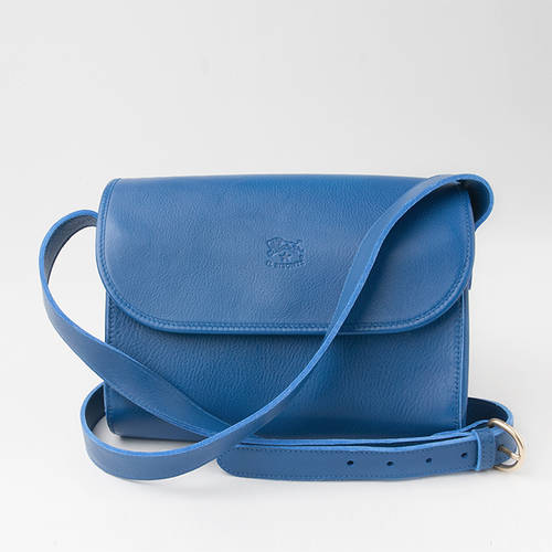 Flap Purse in Blue