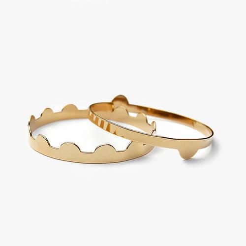 Tiro Tiro Solid Brass Bracelet