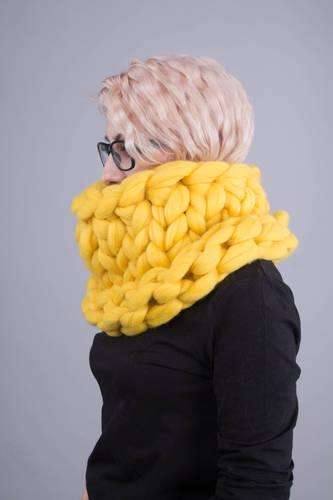 Super Chunky infinity scarf