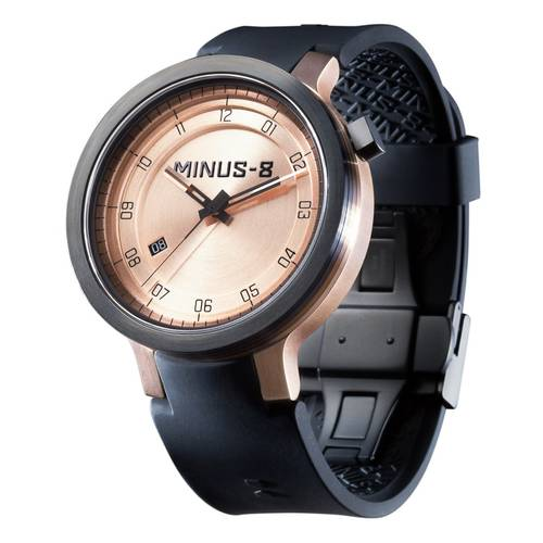 MINUS-8 Layer Watch Black/Gold