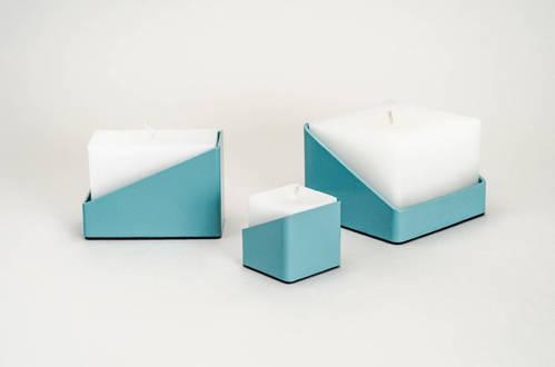 TUBE Candle Turquoise