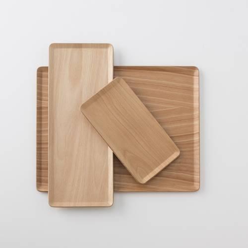 Wooden Birch Tray