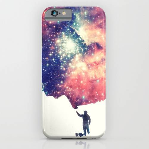 Painting the universe iPhone case