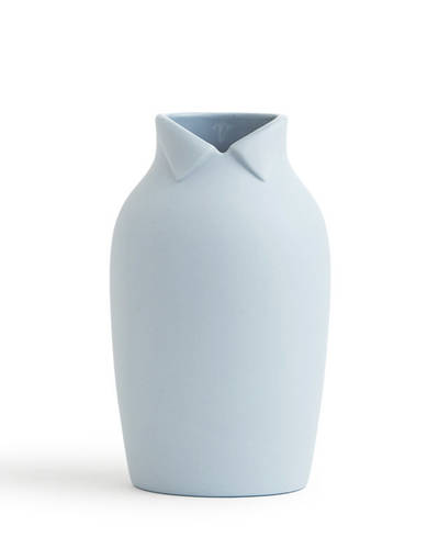 Dress Up Vase - Large Pale Blue