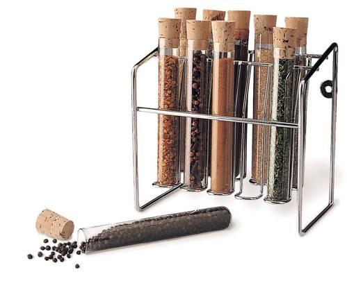 Glass Spice Test Tube Set