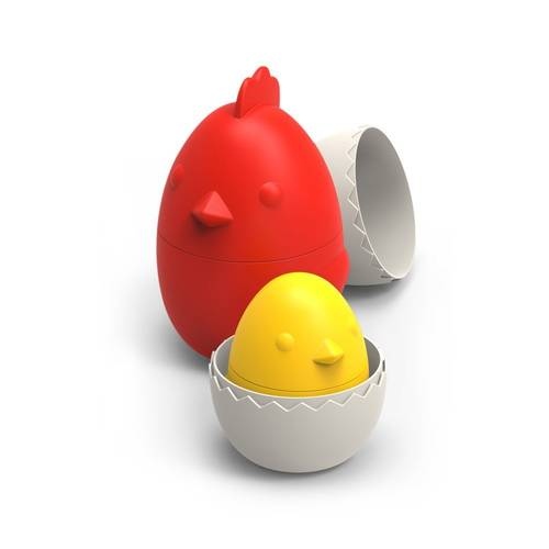 Nested Hen Egg Chick Measuring Cup