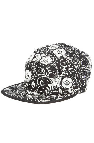 Hat Khokhloma Camper Black