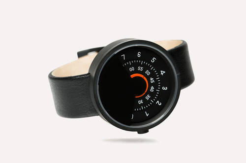 Black & Orange Anicorn Watch