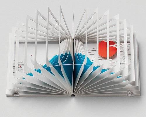 Mount Fuji 360-Degree Book