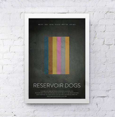 Reservoir Dogs Minimalist print