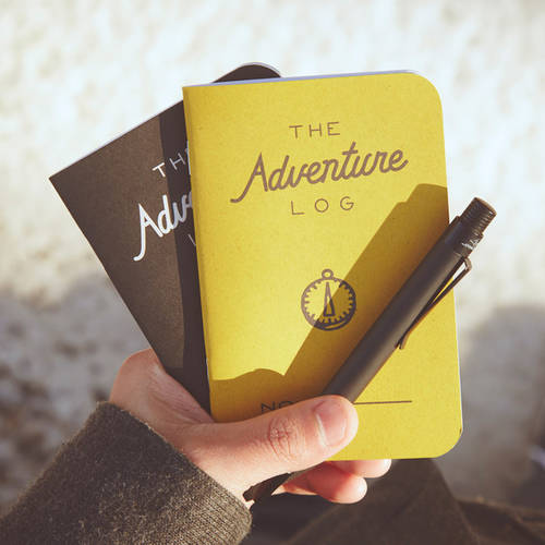 The Adventure Log Notebook