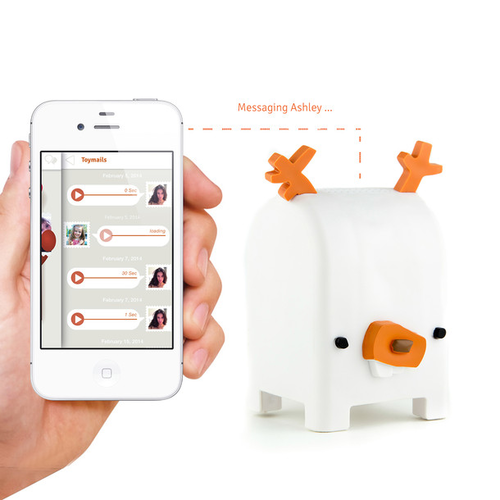 Buck Audio Messaging Toy