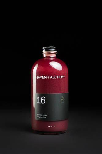 Owen + Alchemy Wellness drinks