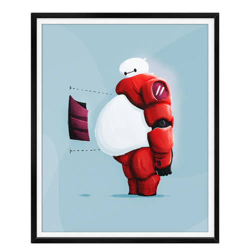 Baymax Big Hero 6 Fanart