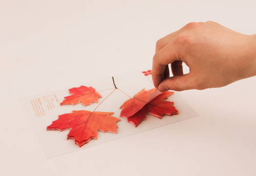 Leaf it Maple sticky notes