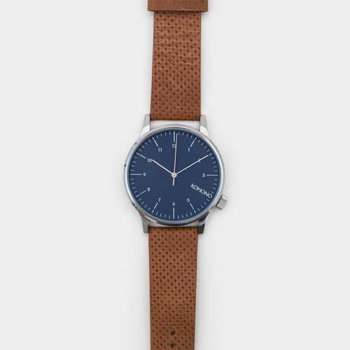Komono Winston Watch - Blue Cognac
