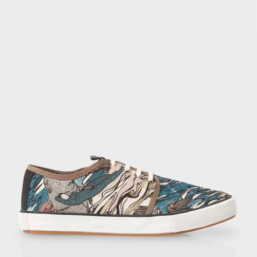 Paul Smith Men's Holy Mountain Print Trainers