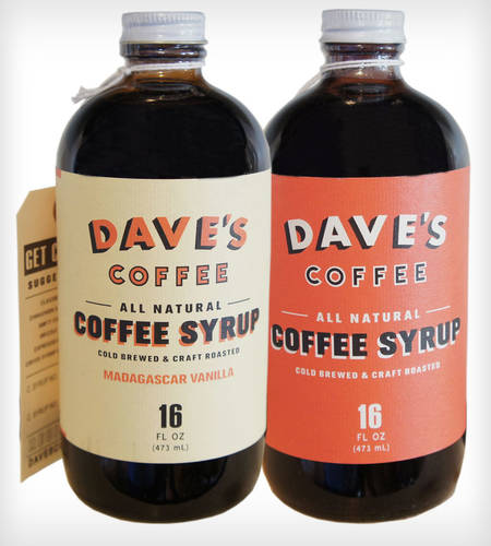 Cold Brew Coffee Syrup Combo
