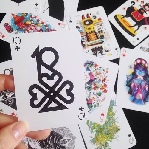 Playing Arts designer playing cards