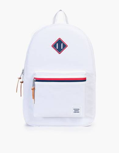 White Polycoat Ruskin Backpack