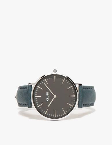 La Bohème Silver Black/Petrol Watch