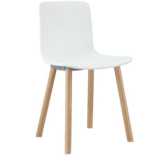 LexMod Sprung Plastic Modern Dining Chair