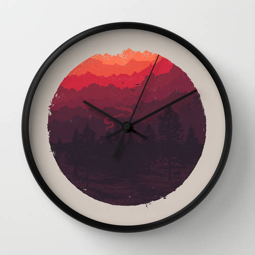 Chimney Wall Clock